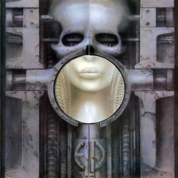 "Обложка альбома ""Brain Salad Surgery"" группы ""Emerson, Lake and Palmer"""
