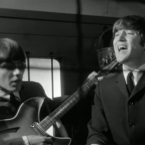 Битлз исполняют I Should Have Known Better в фильме A hard Day's night