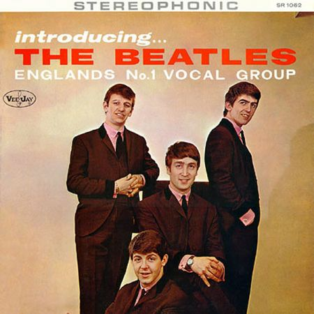 Обложка альбома Introducing the Beatles
